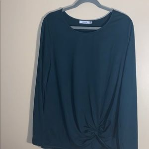 Ricki's XL dark green long-sleeved top